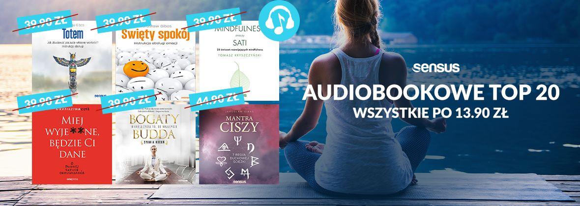 Promocja na ebooki TOP 20 Audiobooków
